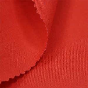 Orange color security guard drill fabric