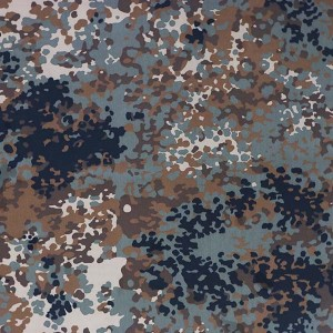Flecktarn fabric for Germany