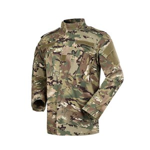 Multicam camo military tactical uniform