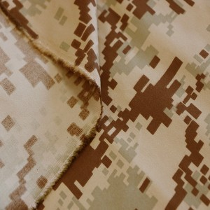 Digital desert camo fabric for Middle east Military
