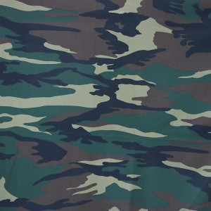 China factory  pigment polyester cotton camouflage fabric