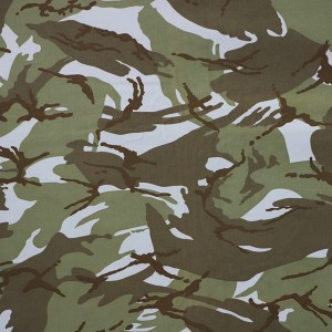 China supplier textile cotton polyester military camouflage fabric