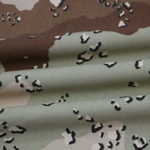 Desert military cloth for middle east