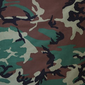 China supplier Textile polyester cotton military camouflage fabric