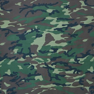 High quality low price Kazakhstan pigment camouflage fabric