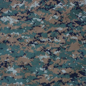 Nylon cotton military fabric