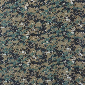 Woodland digital fabric for middle east