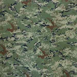 Anti-ir military fabric for Croatia