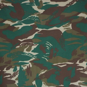 Military fabric for Zambia