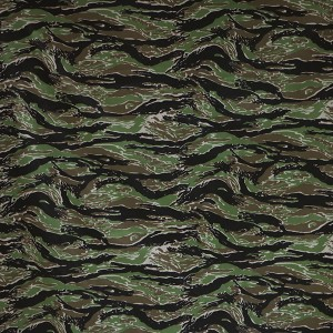 Tigerstripe camo fabric