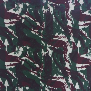 Wholesale printed military clothing fabric