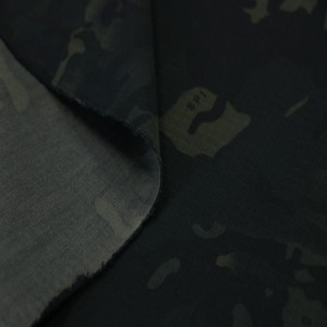 China supplier multicam black fabric