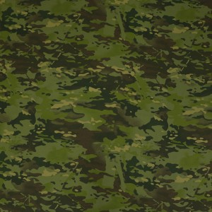 Waterproof & breathable Multicam tropic nylon fabric with DINTEX
