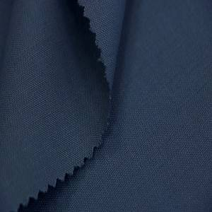 Wool worsted fabric for workwear fabric