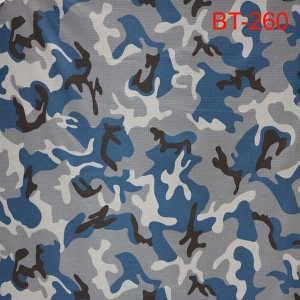 Blue camouflage fabric fun Nepal olopa