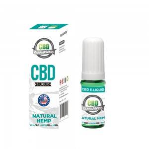 "CANNAPRESSO CBD E 1000 מ""ג נוזלי שמן vape 10ml CBD"
