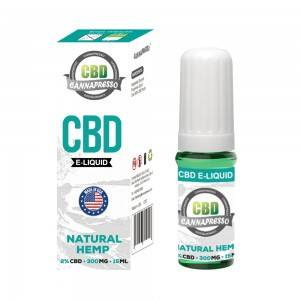 CANNAPRESSO CBD E течност-300mg CBD 15ml vape масло