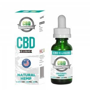 CANNAPRESSO CBD E моеъ-100mg равғани CBD 30ml vape