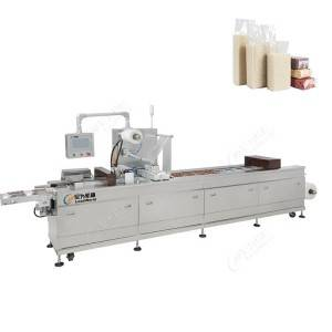 rice vacuum stretch film packing machine