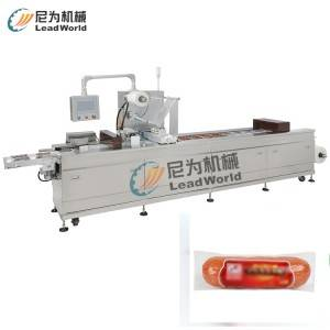 Auto thermoforming & vacuum packing machine