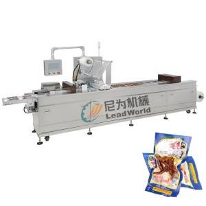 leisure fish canned vacuum Stretch film packaging machine