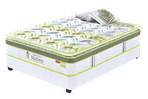 INNERSPRING MATTRESSES : BP05PL Best-Selling Home Fashion International Compressed Memory Foam Bed Mattress