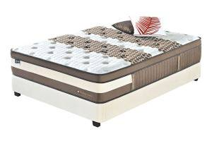 INNERSPRING MATTRESSES :FMBS01P Best-Selling Home Fashion International Compressed Memory Foam Bed Mattress