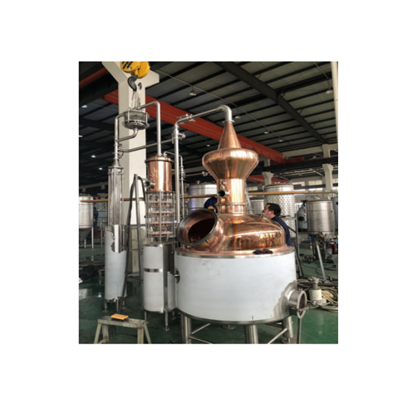 Factory Directly supply Small Scale Distiller -