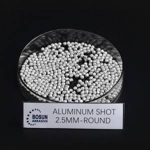 Aluminum Shot 2.5mm round