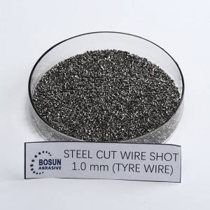 Steel Cut Wire Shot 1mm tyre wire