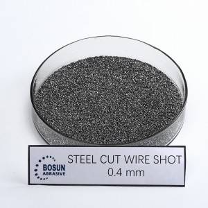 Steel Cut Wire Shot 0.4mm