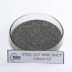 Steel Cut Wire Shot 0.8mm G2