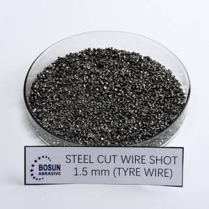 Steel Cut Wire Shot 1.5mm tyre wire