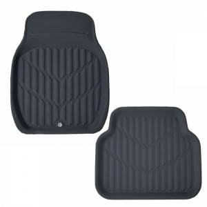 Eco Friendly TPR Non Toxic Universal Car Floor Mats Carpet Black