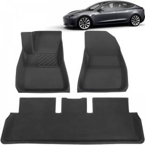 China Anti Slip Dirtproof TPR Rubber Floor Mats For Cars For Women