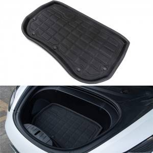 Diamond Non Skid Waterproof Custom TPR XPE Tesla Model 3 Trunk Mat