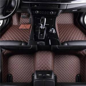 Luxury Leather Car Mats 5D Car Floor Mat