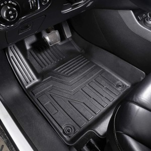 Diamond Carpeted Back Floor Mats For Cars For Women For Toyota CHR