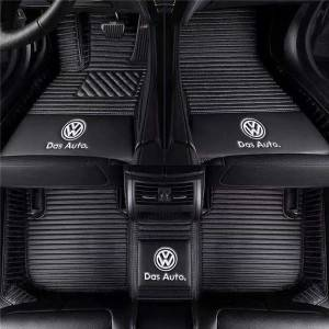 Diamond Customized Foot Mat 5D Leather Car Floor Mats