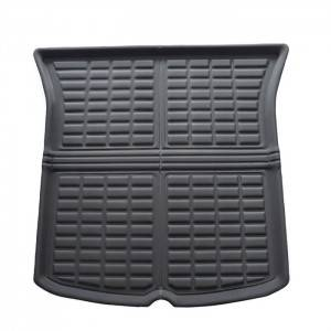 Luxury Waterproof Anti Slip Car Boot Mat Tesla Model Y Trunk Mat