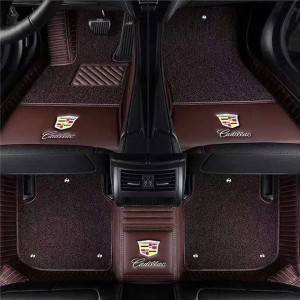 7d Car Mats Pvc Anti Slip Luxury Floor Foot Mats