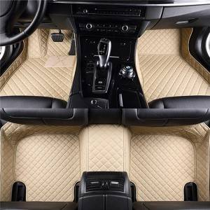 Custom Car Floor Mats Full PVC Non Skid Car Mats