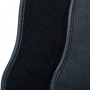Luxury Auto Black Custom Car Mats Carpet For Women