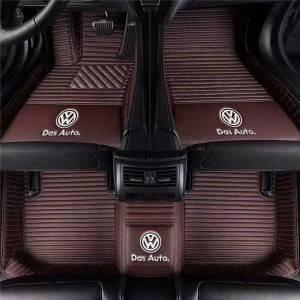 Luxury Leather Custom Diamond Car Mats 7d Foot Mats
