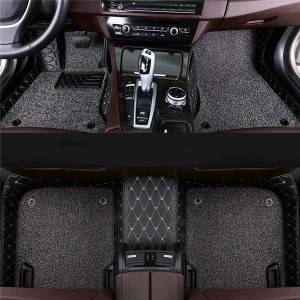Non Skid Diamond Custom 7d Car Floor Mats Leather