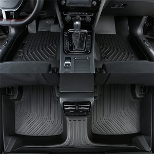 All Season Full 3d Luxury Weather Floor Mats For Cars For Honda Accord