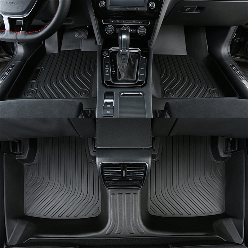 All Season Full 3d Luxury Weather Floor Mats For Cars For Honda Accord Featured Image