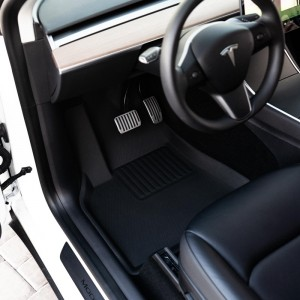 3D Waterproof TPR Car Foot Mat Luxury Fit Custom Car Weather Mats
