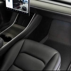 Best Diamond 3d Universal Custom Black Car Mats For Men