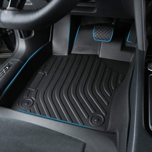 All Weather TPE TPO Custom Oem Cargo Floor Mats For Cars For Ford F150